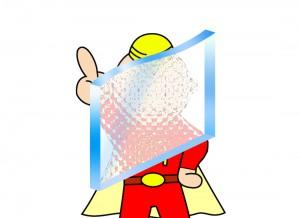 型板ガラス2